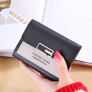 Hình ảnh Ví nữ thời trang ngắn cầm tay mini đẹp MADLEY cao cấp nhiều ngăn nhỏ gọn bỏ túi VD220-6