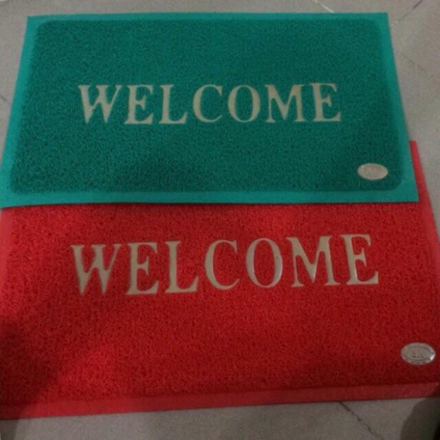 Thảm nhựa chùi chân welcome 30x50 - 9937531 , 580650618 , 322_580650618 , 40000 , Tham-nhua-chui-chan-welcome-30x50-322_580650618 , shopee.vn , Thảm nhựa chùi chân welcome 30x50