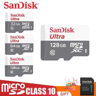 Thẻ Nhớ MicroSDHC SanDisk Ultra 8GB 16GB 32GB 16GB Upto 80MB/S