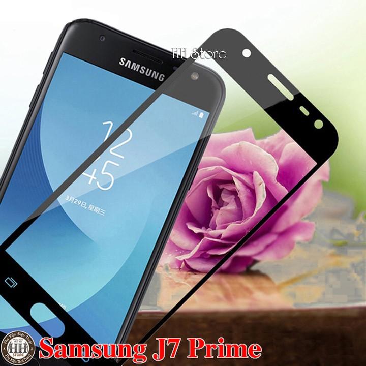 Samsung J7 Prime Kính cường lực full 5D