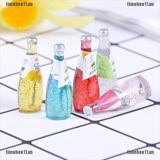 【timehee11】5Pcs 1/12 Miniature food mini fruit drink model for dollhouse ki