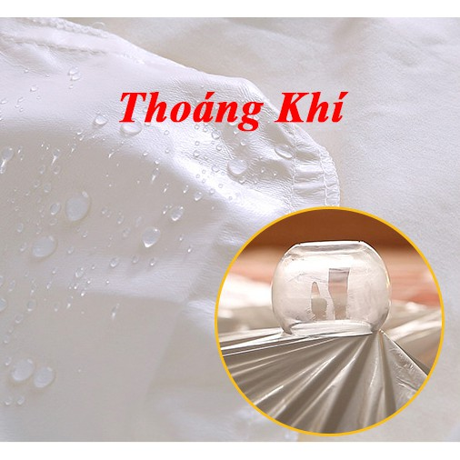 Ga chống thấm cotton cao cấp Thiên An, drap chống thấm cotton cho bé nằm trực tiếp, không nóng bí, không sột soạt