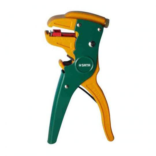 Kềm tuốt dây điện 6-1/2 inch Sata-91108
