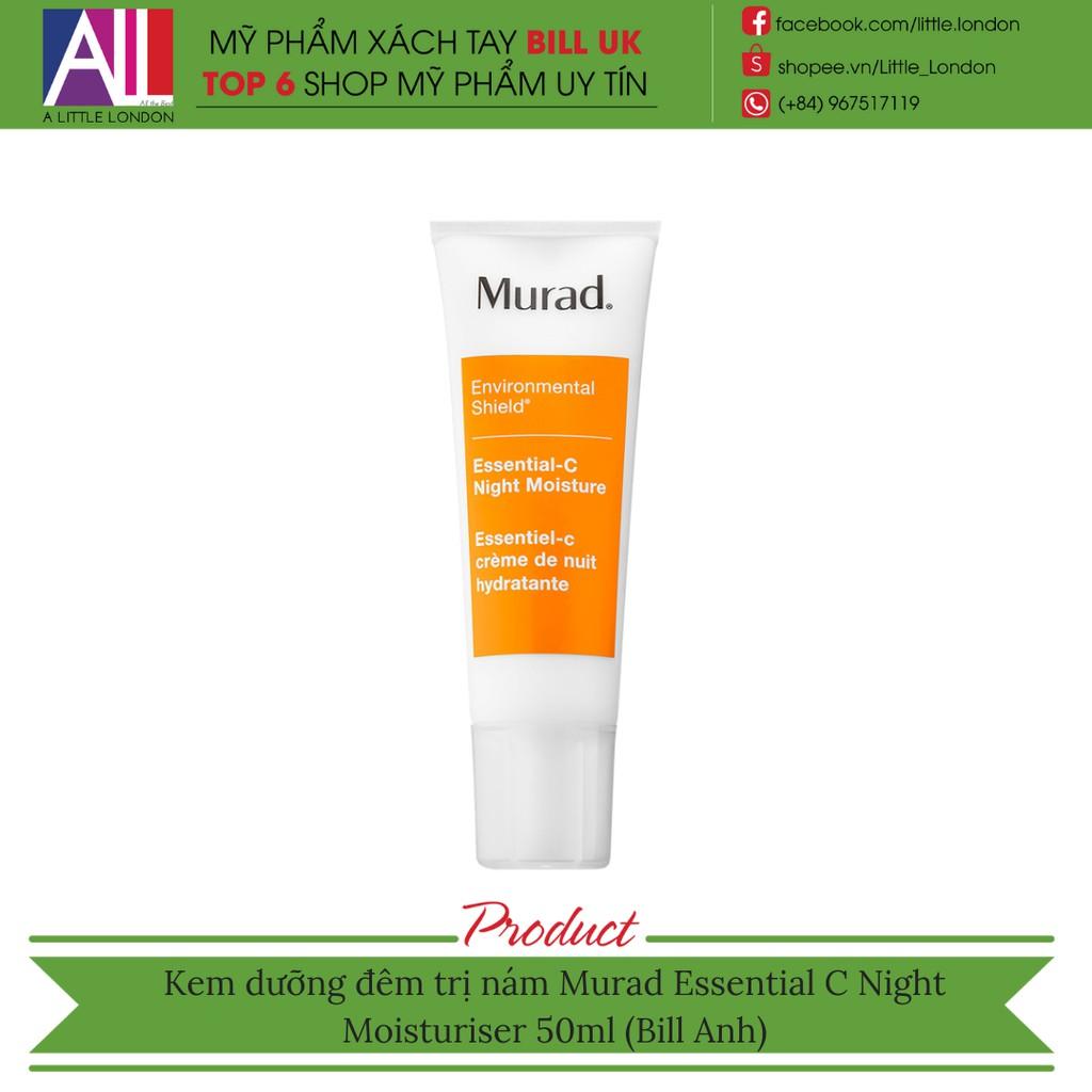 c56ee3b352 Kem dưỡng đêm trị nám Murad Essential C Night Moisturiser 50ml (Bill Anh)
