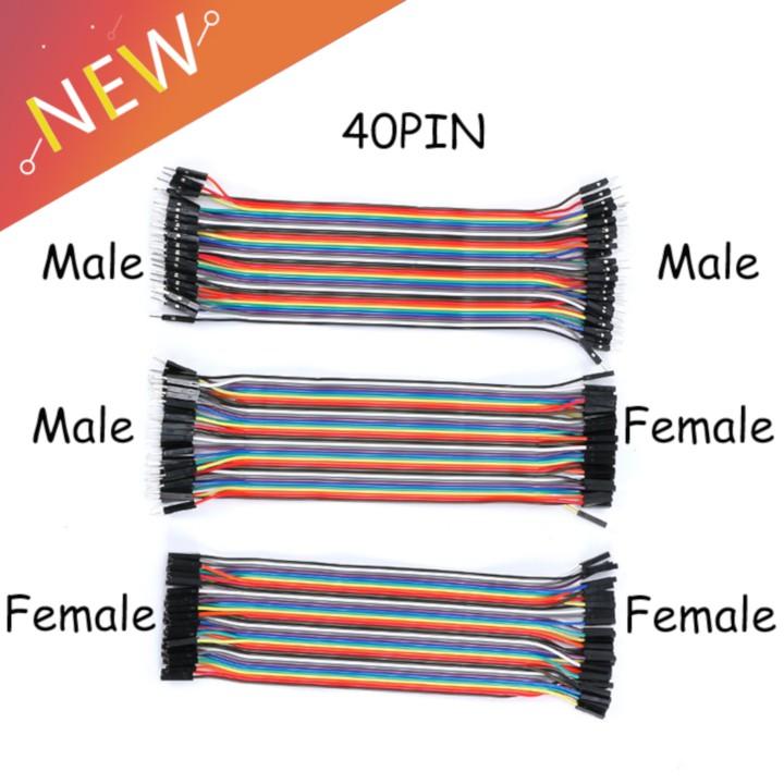Cáp nối cho Arduino cáp testboard 40 pin – Breadboard dupont jumper cable 40pin Giá chỉ 32.000₫