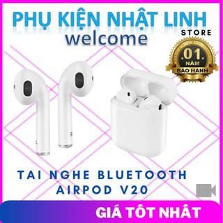 Tai Nghe Bluetooth Airpod V20-Phụ Kiện Nhật Linh