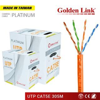 CÁP MẠNG GOLDEN LINK PLATINUM UTP CAT5E 305 MÉT CAM GL01002 thumbnail