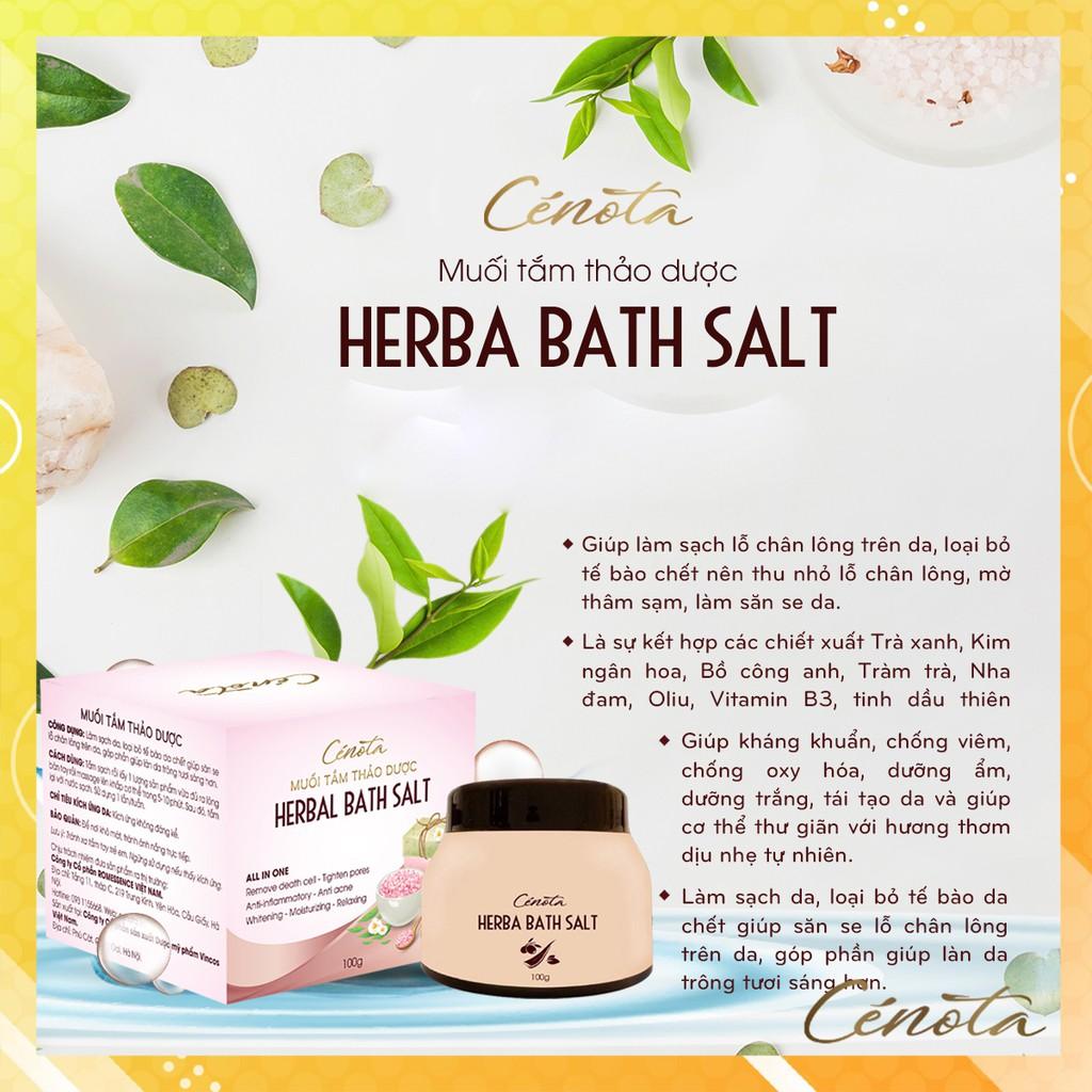 Muối tắm thảo dược tự nhiên, muối tắm làm sạch lỗ chân lông - C02 Kagawa