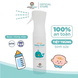 [Trợ Giá Mùa Dịch] Tiệt trùng, rửa bình sữa – Xịt diệt khuẩn Baby Fresh – JOONA BABY