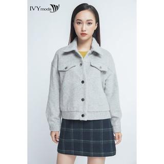 Áo khoác dạ cổ đức nữ IVY moda MS 70B6806 thumbnail