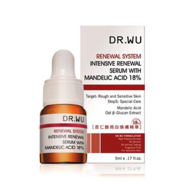Kết quả hình ảnh cho dr.wu mandelic acid plus 5ml