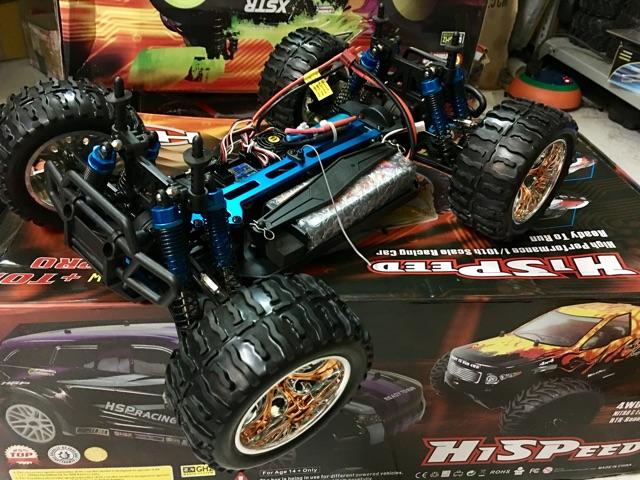 xe điều khiển hsp buggy 94107 pro 80-90km/h