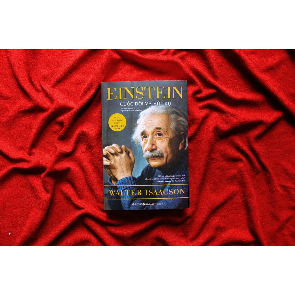 Sách - Einstein – Cuộc Đời Và Vũ Trụ (Tái Bản 2017)
