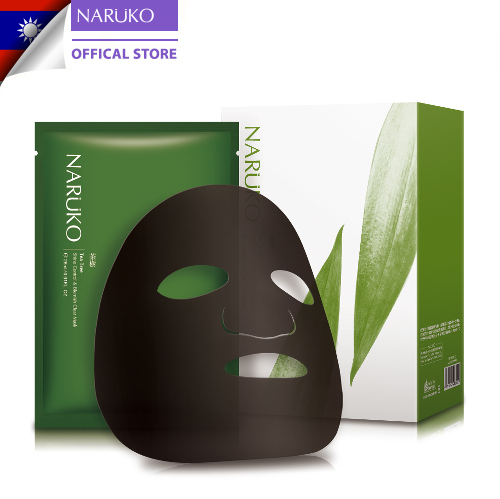 Hộp 8 miếng mặt nạ kiểm soát dầu và mụn trà tràm Naruko Tea Tree 26ml/m (Bản Đài)