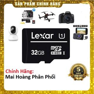 Thẻ nhớ Lexar 32GB Class 10 tốc độ 80Mb/s-Chính Hãng Mai Hoàng Phân Phối