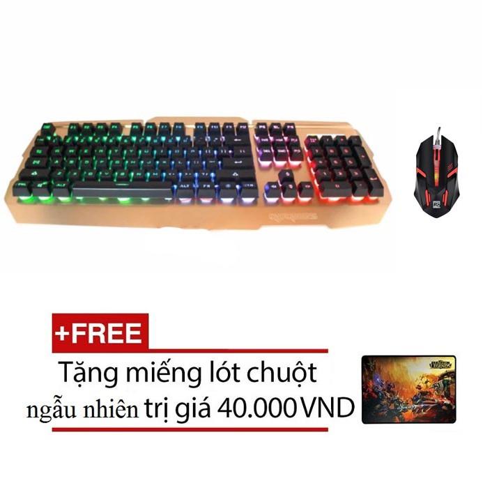 Bộ bàn phím giả cơ và chuột chơi Game Rdrags R300 - R8 1602 (Đen) + Tặng kèm lót chuột - 2563685 , 240130022 , 322_240130022 , 351000 , Bo-ban-phim-gia-co-va-chuot-choi-Game-Rdrags-R300-R8-1602-Den-Tang-kem-lot-chuot-322_240130022 , shopee.vn , Bộ bàn phím giả cơ và chuột chơi Game Rdrags R300 - R8 1602 (Đen) + Tặng kèm lót chuột