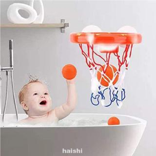 Bath Toys Basketball Game Toy Set Bathtub Funny Kids Mini Suctions Cups With Hoop Balls Plastic