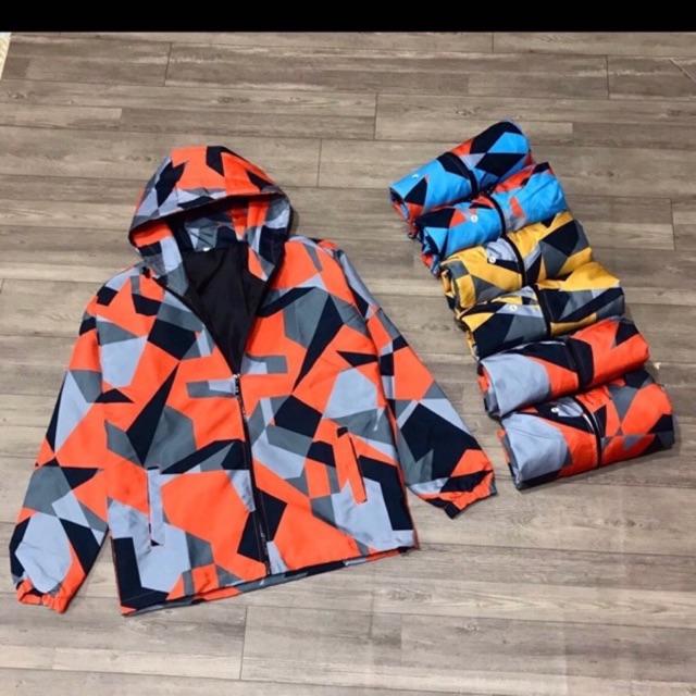 áo khoác dù đôi 2 lớp nhiều màu cao cấp