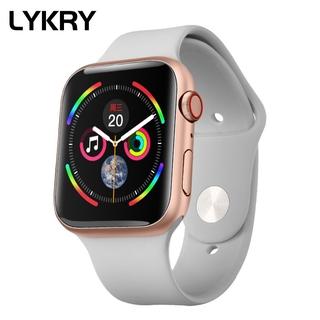 Lykry Đồng hồ thông minh I7S 44MM PK IWO 8 IWO 12 hỗ trợ đo huyết áp nhịp tim cho IOS Android