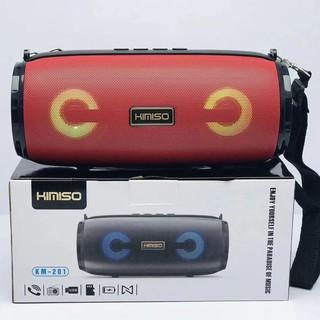 Loa bluetooth đa năng KIMISO KM-201 TWS kết nối cùng lúc 2 loa - kèm dây đeo (Màu ngẫu nhiên)
