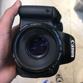 Máy ảnh cũ canon 650D kèm fix canon 50 f1.8 ii