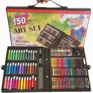 Hộp chì màu đa năng 150 loại bút màu