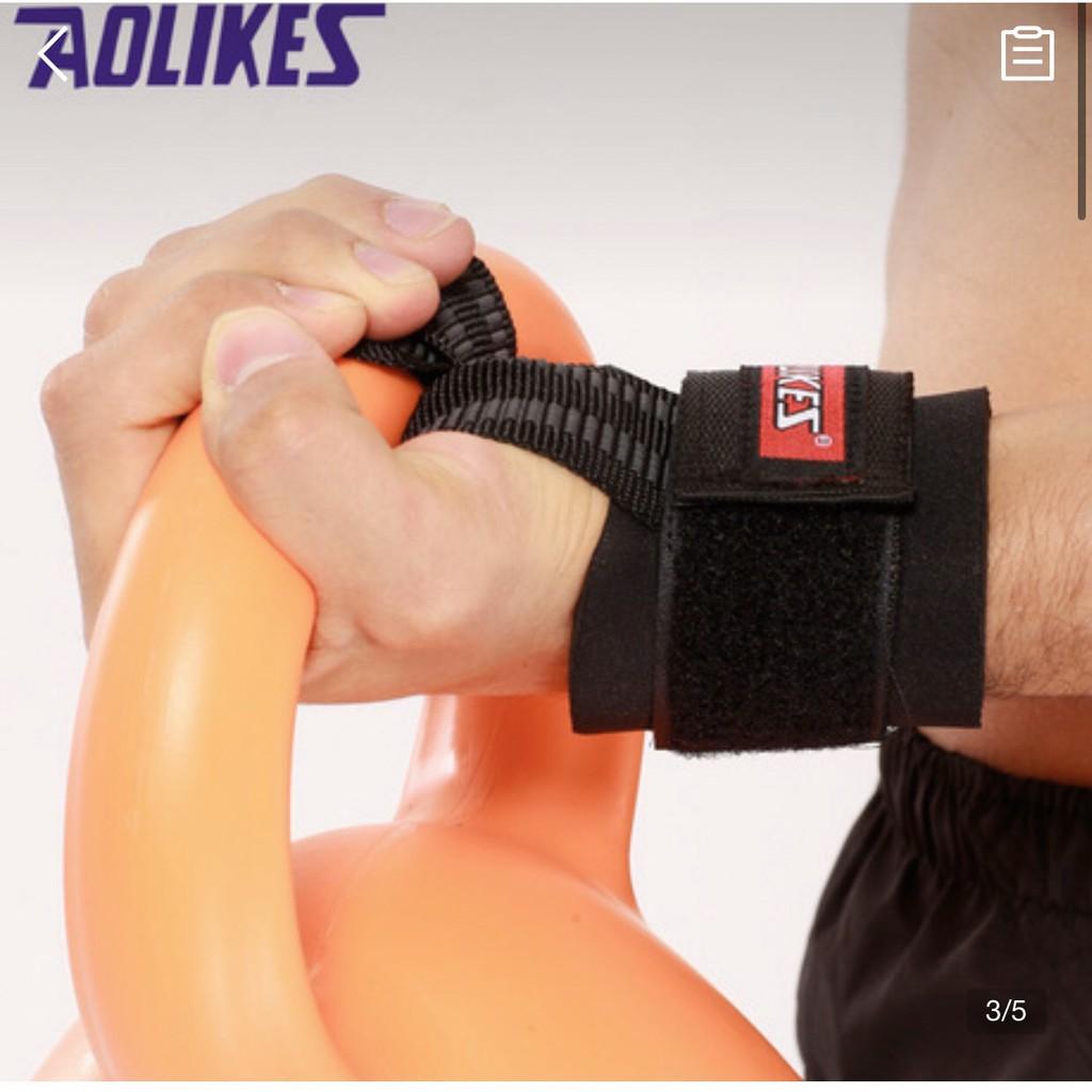 Đai quấn cổ tay hỗ trợ nâng tạ_áp lực chống trượt cổ tay
