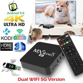Đầu Mxq Pro 4k Android Tv Box 2 + 16gb Rk3229 Lõi Tứ Android 9.0
