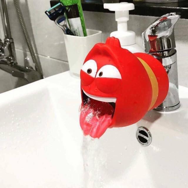 [KM] Đầu nối vòi nước hình ấu trùng lavar siêu hot (DC)