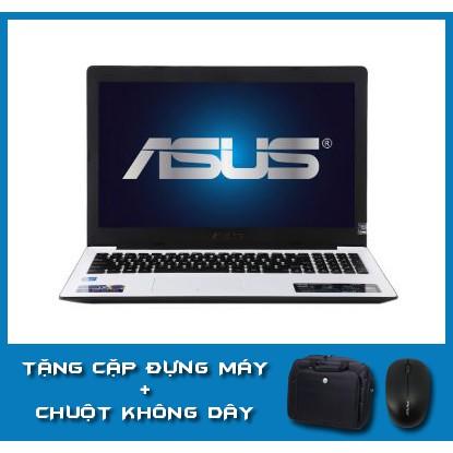 Laptop Cũ Rẻ Asus X553MA Trắng Mỏng Nhẹ Ram 4G_ổ 500G_Màn 15.6 Làm Văn Phòng, Học Tập mượt mà. Tặng đầy đủ phụ kiện