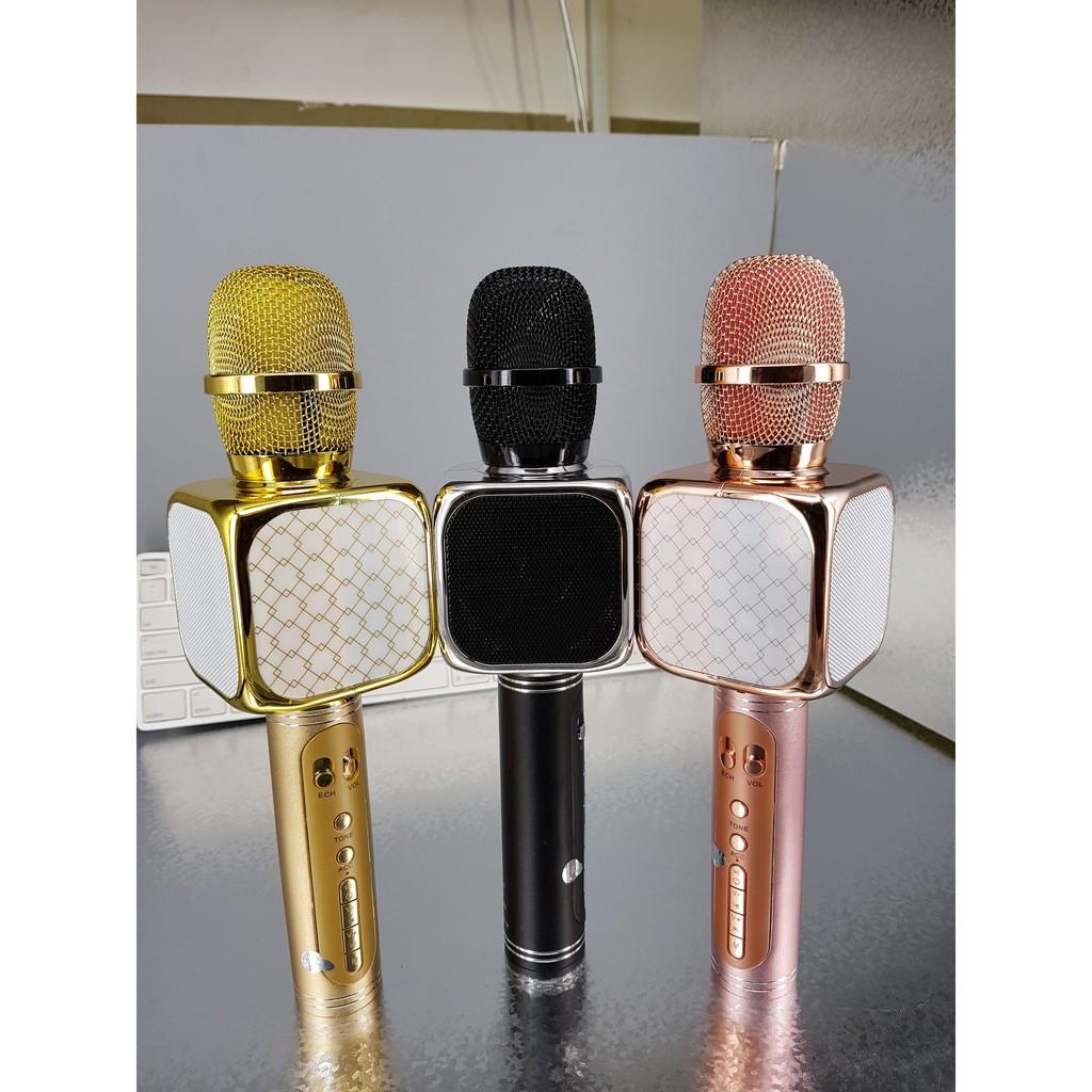 Micro Bluetooth Karaoke SU-YOSD YS69 Loaị 1 âm thanh chuẩn, điều chỉnh giọng nói