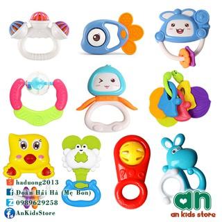 Túi đồ chơi xúc xắc 10 món – Hàng nhập khẩu chính hãng