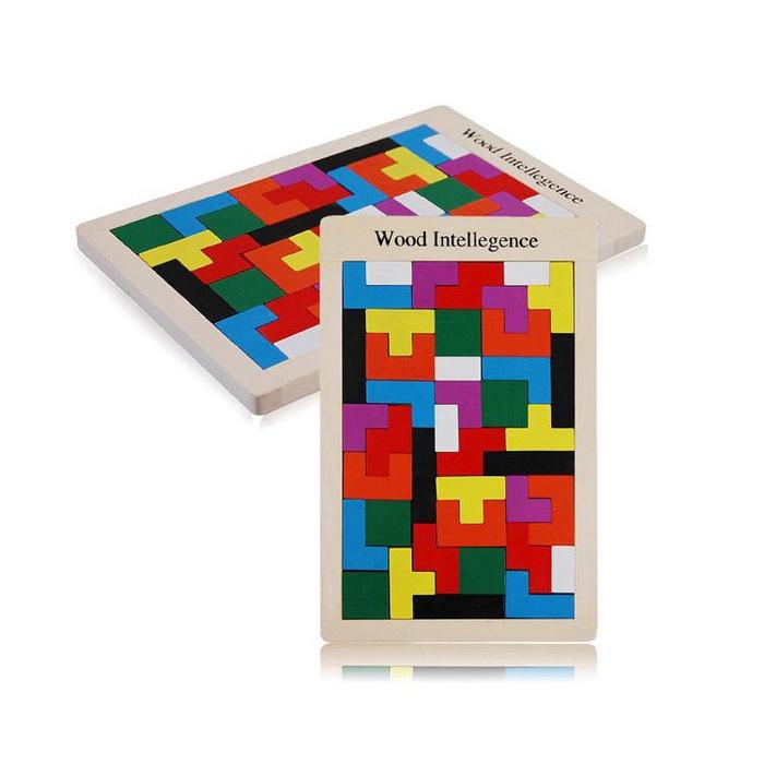 Đồ chơi xếp hình gỗ Tangram cỡ lớn ME-023