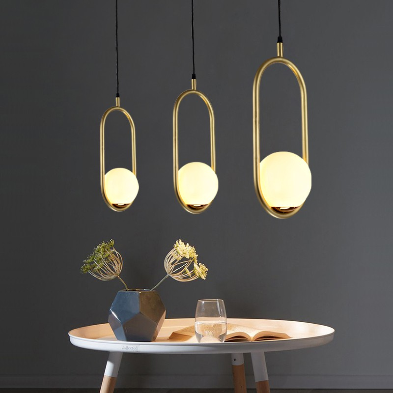 Combo 2 đèn thả trang trí LIZI độc đáo kèm bóng LED chuyên dụng