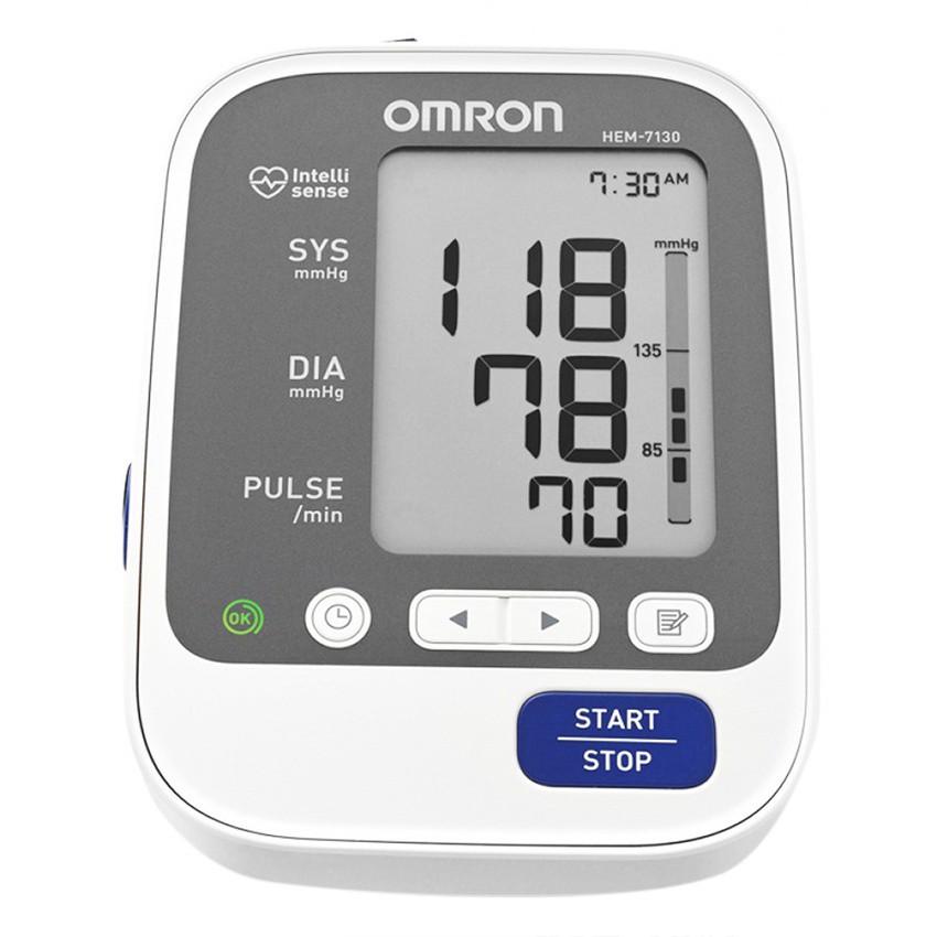 Máy đo huyếp áp bắp tay Omron HEM-7130 (Trắng)