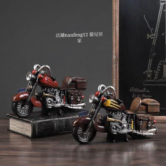 mô hình xe mô tô phong cách cổ điển
