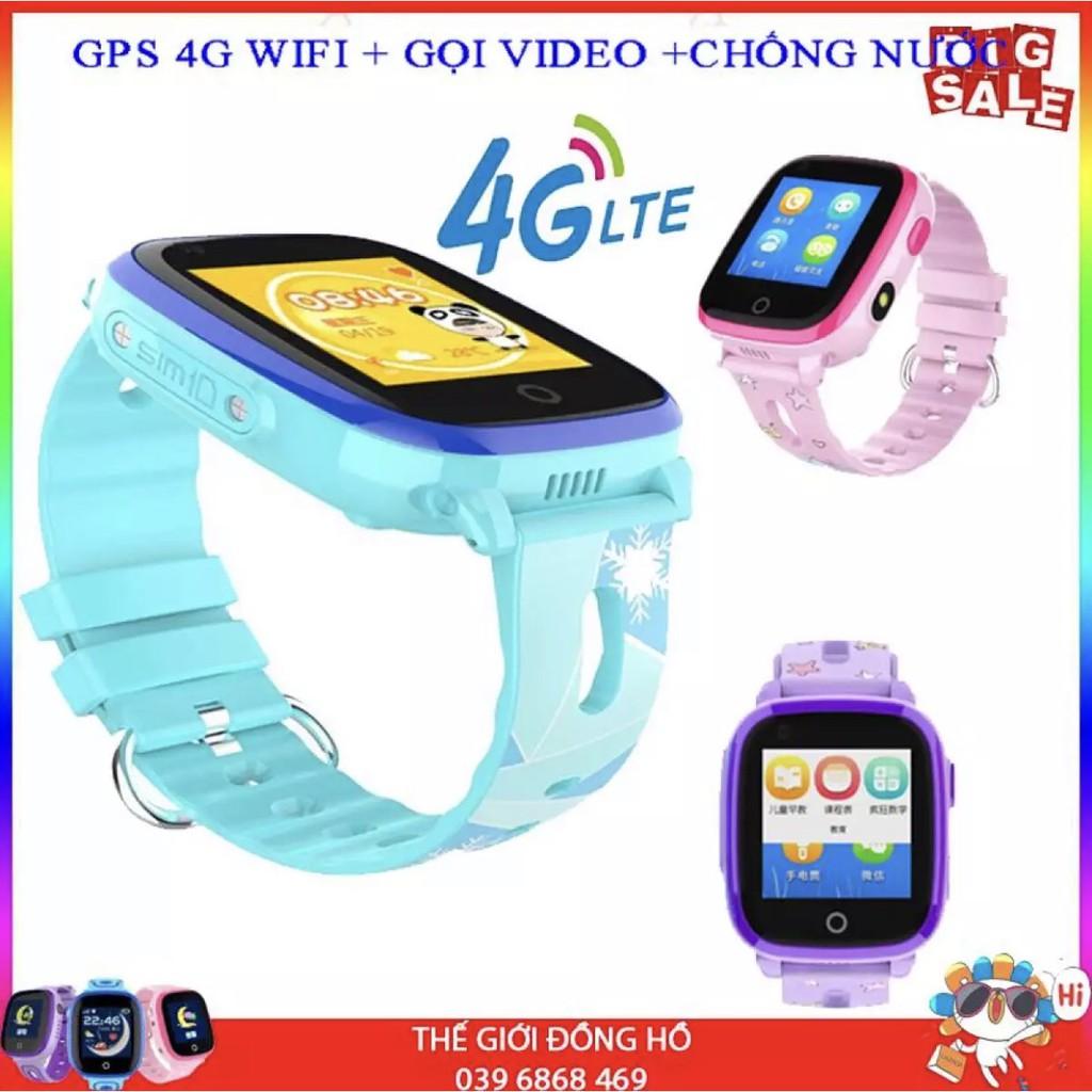 [Tiếng Việt] Đồng hồ định vị Trẻ em GPS WiFi 4G DF33 Có chế độ Gọi Video siêu tiện dụng, chống nước tuyệt đối IP67