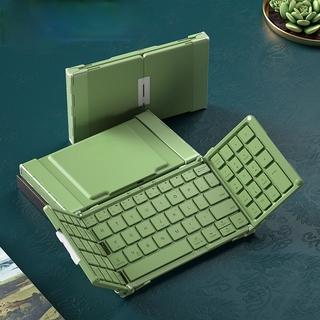 Bàn Phím Bluetooth Gấp Gọn Kèm Bàn Phím Chơi Game 79 Phím Cho Macbook Ipad Tablet Phone thumbnail