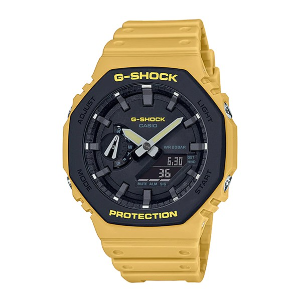 Đồng Hồ Nam Casio G-Shock GA-2110SU-9ADR Chính Hãng - Dây Nhựa | G-Shock GA-2110SU-9