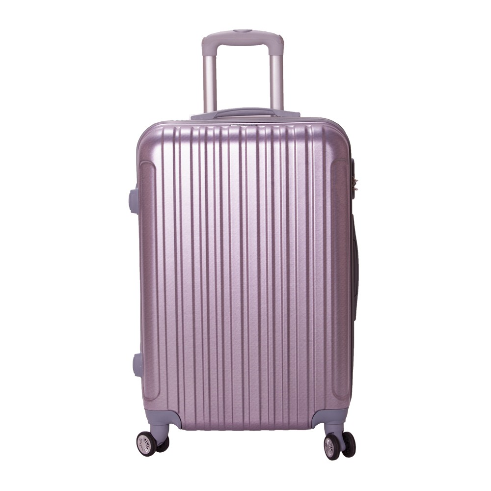 Vali nhựa cao cấp Macat size 20 (Vân Tím)