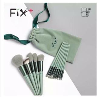 Bộ Cọ trang điểm FIX bao gồm 13 cây xanh pastel thumbnail