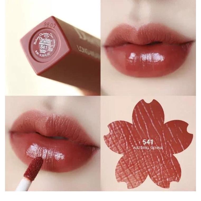 Son kem Dior Lip tatoo sẵn màu 541 421 321
