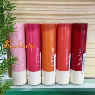 [Nhiều màu] Son dưỡng môi có màu vừa hiệu quả vừa xinh Innisfree Glow Tint Lip Balm