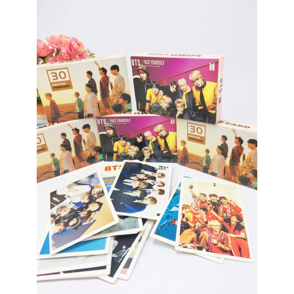 Hộp 32 tấm hình lomo card BTS mẫu mới