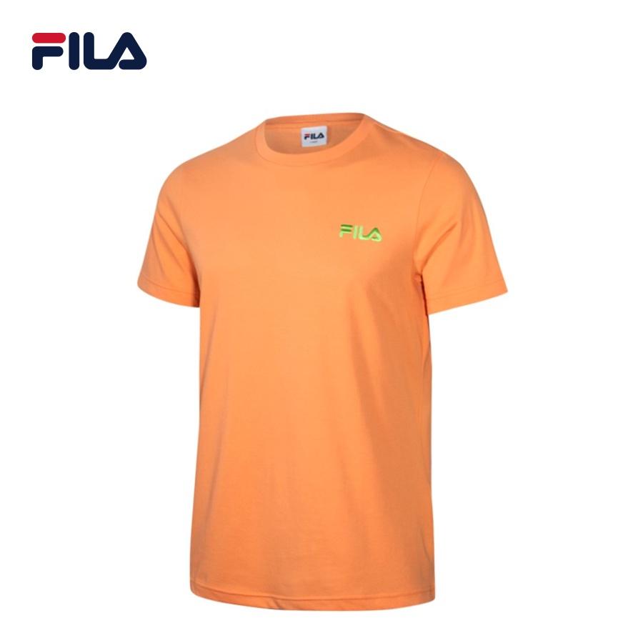 Áo thun tay ngắn unisex Fila Box Logo - BTS Global Inline - FS2RSC2125X-NEON/ORG