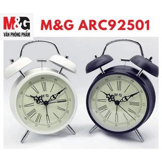 Đồng hồ báo thức M&G ARC92501/ARC92502 bằng sắt (giao màu ngẫu nhiên)- 1 cái