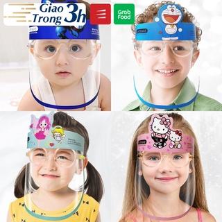 Kính chống dịch, kính chống giọt bắn Faceshield em bé chính hãng BOPA