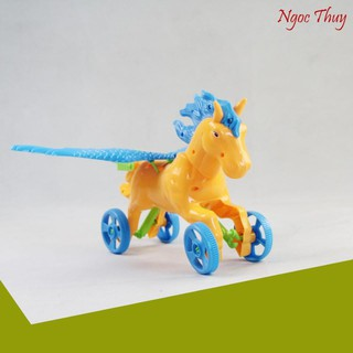 [SIÊU KHUYẾN MẠI] Đồ chơi xe đẩy ngựa chiến thần mạnh mẽ – Bibo 224