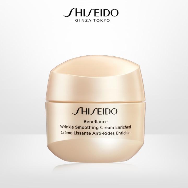 Kem dưỡng da chống lão hóa giàu ẩm Shiseido Benefiance Wrinkle Smoothing  Cream Enriched 20ml | Shopee Việt Nam