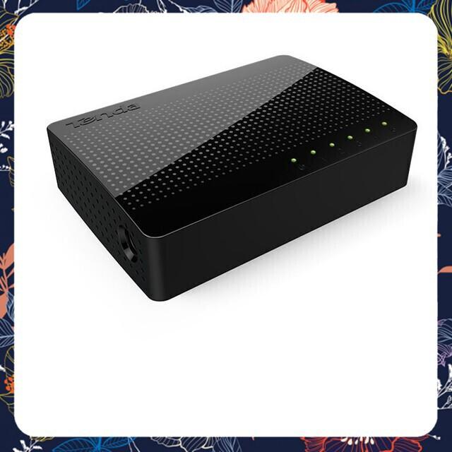 [Hàng Mới Về] Bộ chia mạng 5 cổng 10/100/1000Mbps Tenda GS105 truyền dữ liệu tốc độ cao Giá chỉ 337.500₫